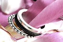 Ringar i 925 silver från Laakso