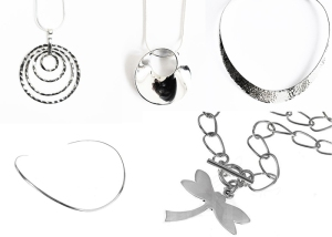 halsband,silver