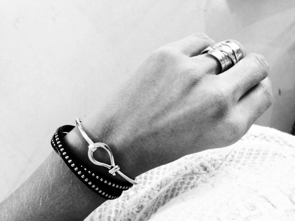 armband silver och ring 3