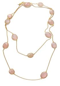 misst jewelry,halsband,belle pink
