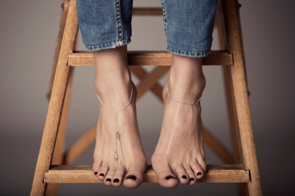 Grace Ankle Toe chain