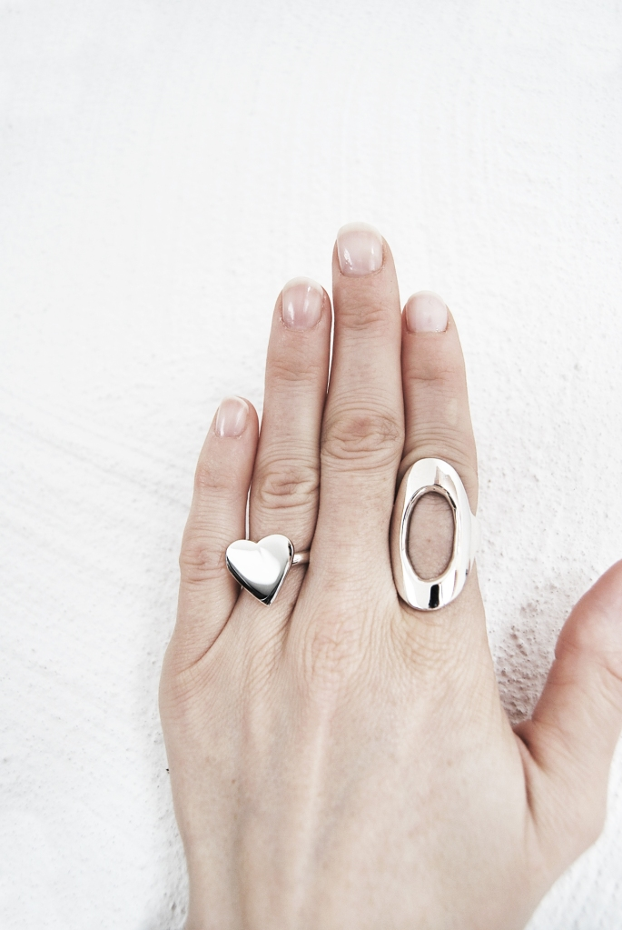 M. Heart ring, M. 145 ring