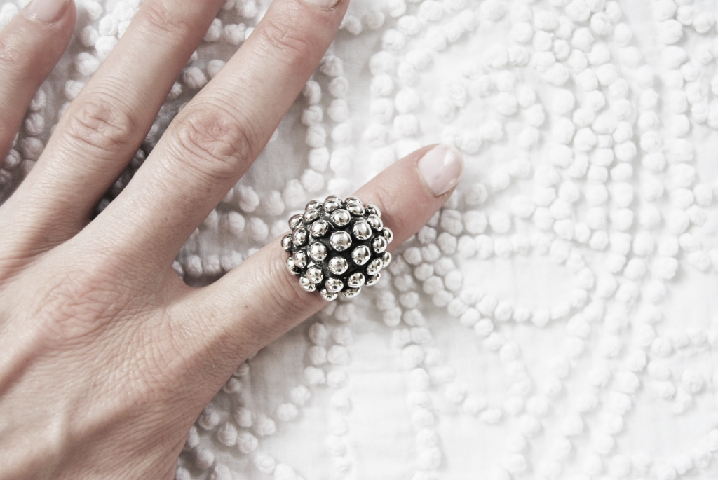 M. Bullet ring