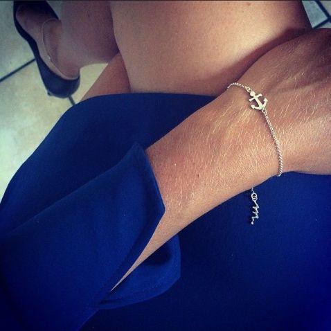 armband silver,ankare,mumbaistockholm