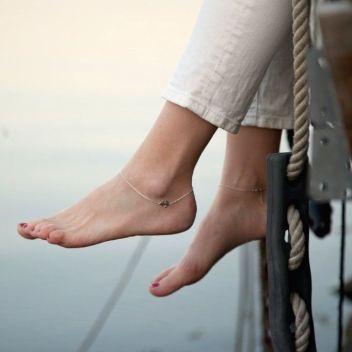 mumbaistockholm,anklet,anchor