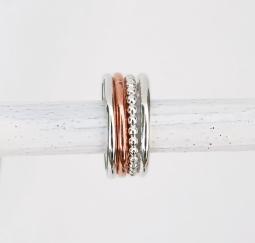 ringar-silver,combo,amalia,rose,2