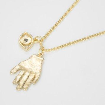 halsband bjorg,hand,guld,2