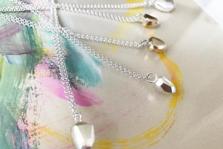 halsband,handgjort,silver,colour,2