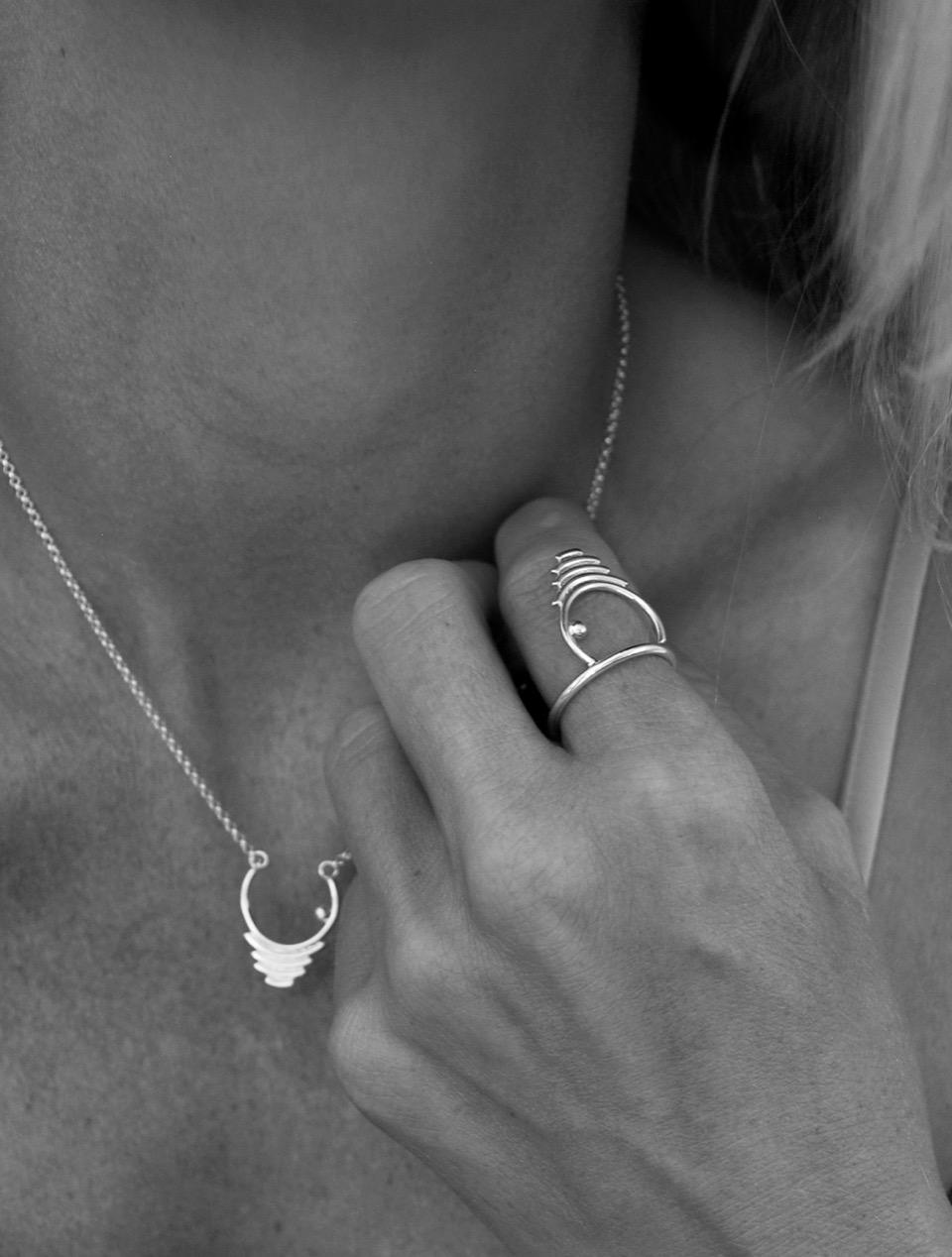ring silver,tj