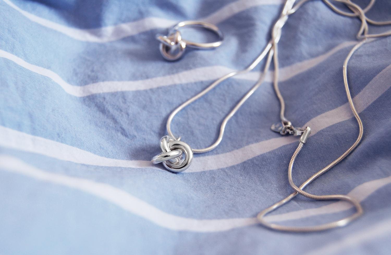 smycken silverknut,2